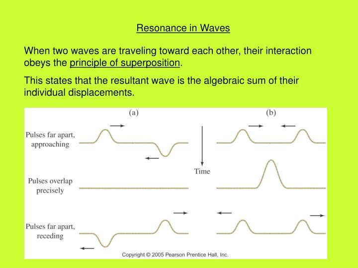 Resonance in Waves