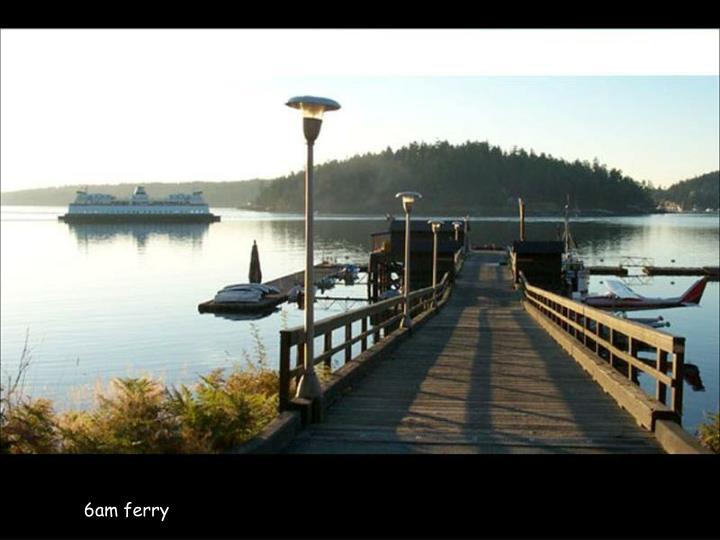 6am ferry