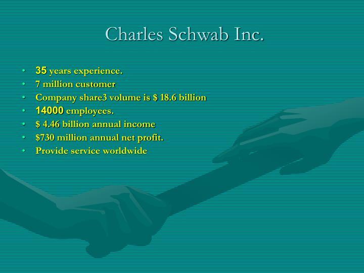 Charles Schwab Inc.