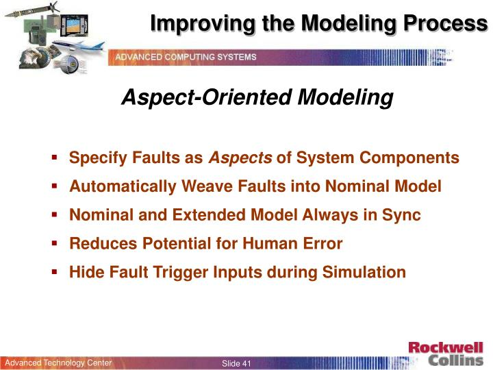 Improving the Modeling Process