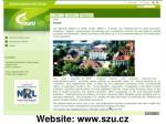 website www szu cz