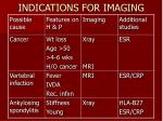 indications for imaging