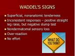 waddel s signs