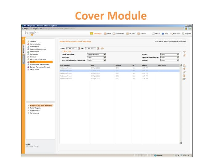 Cover Module