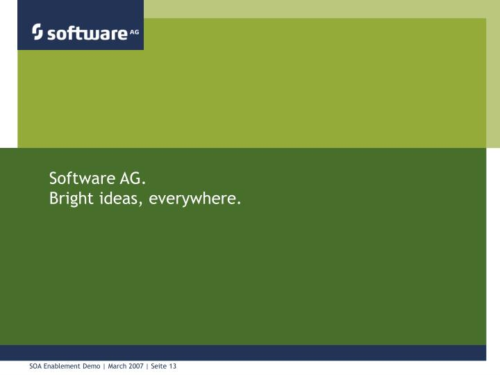 Software AG.