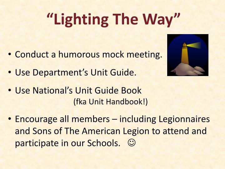 """Lighting The Way"""