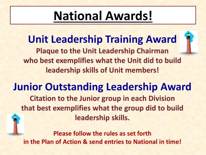 National Awards!
