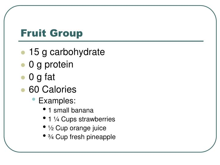 Fruit Group