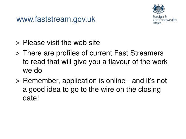 www.faststream.gov.uk