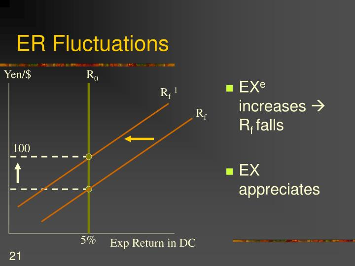 ER Fluctuations