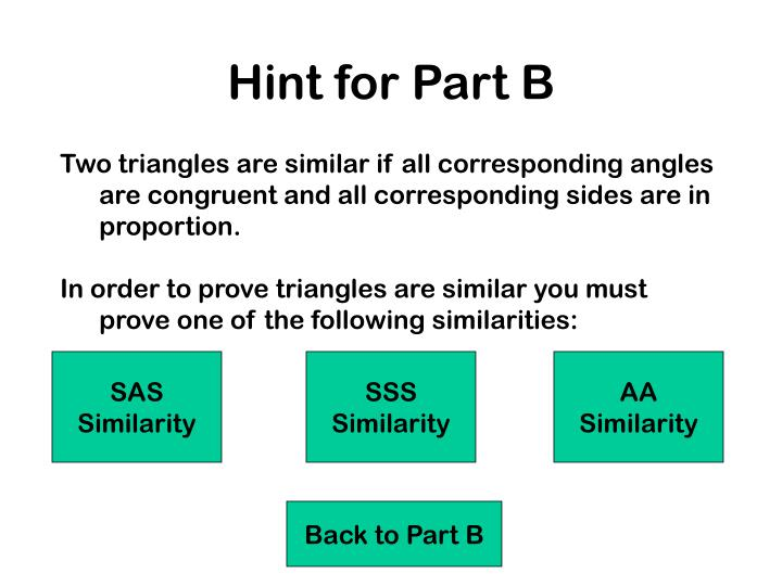 Hint for Part B
