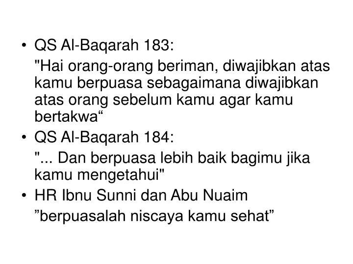 QS Al-Baqarah 183: