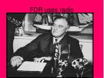 fdr uses radio