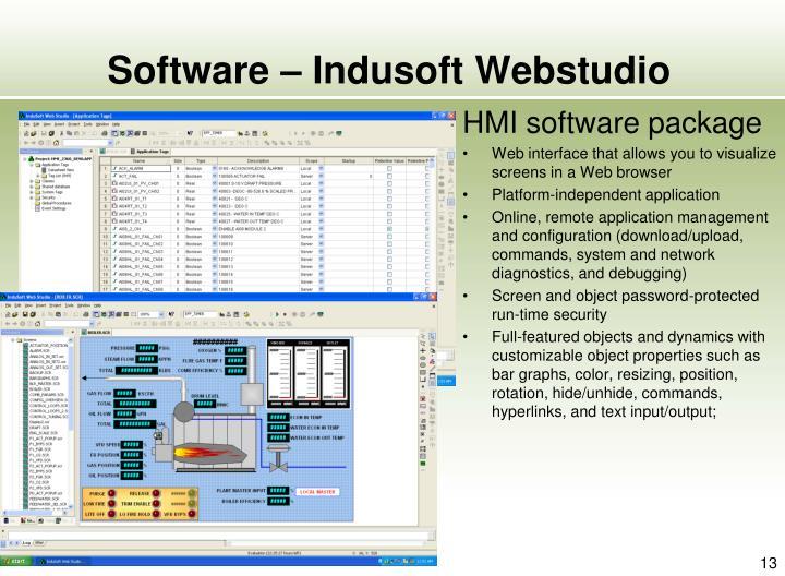 Software – Indusoft Webstudio