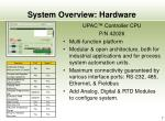 system overview hardware