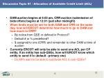 discussion topic 1 allocation of available credit limit acl