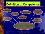 definition of competence