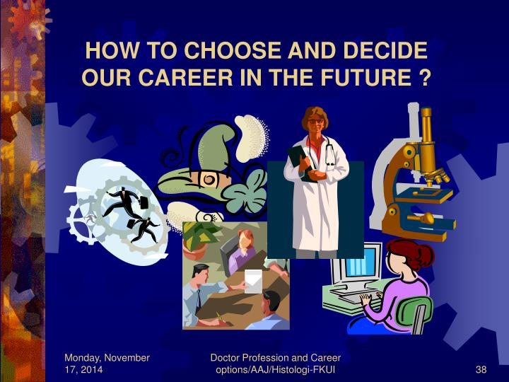 HOW TO CHOOSE AND DECIDE