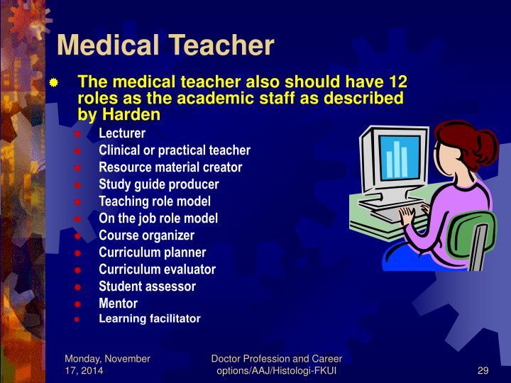 Medical Teacher