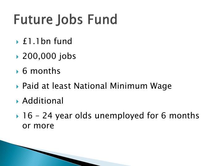 Future Jobs Fund