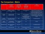 tax comparison matrix1