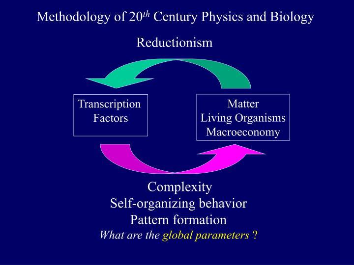 Methodology of 20