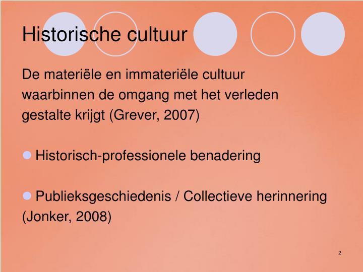 Historische cultuur