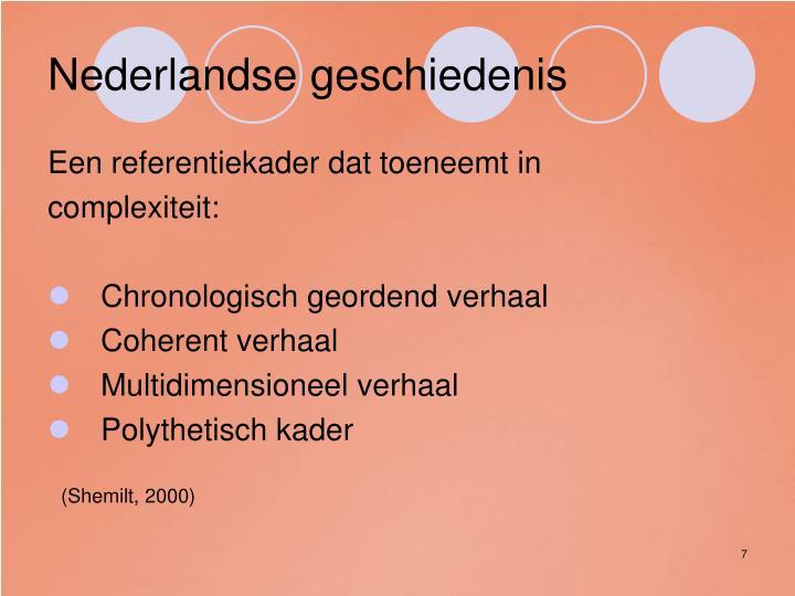 Nederlandse geschiedenis