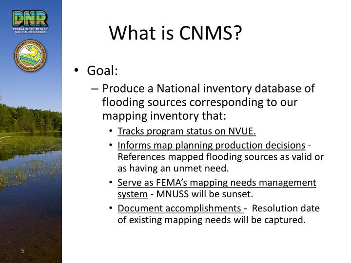 What is CNMS?
