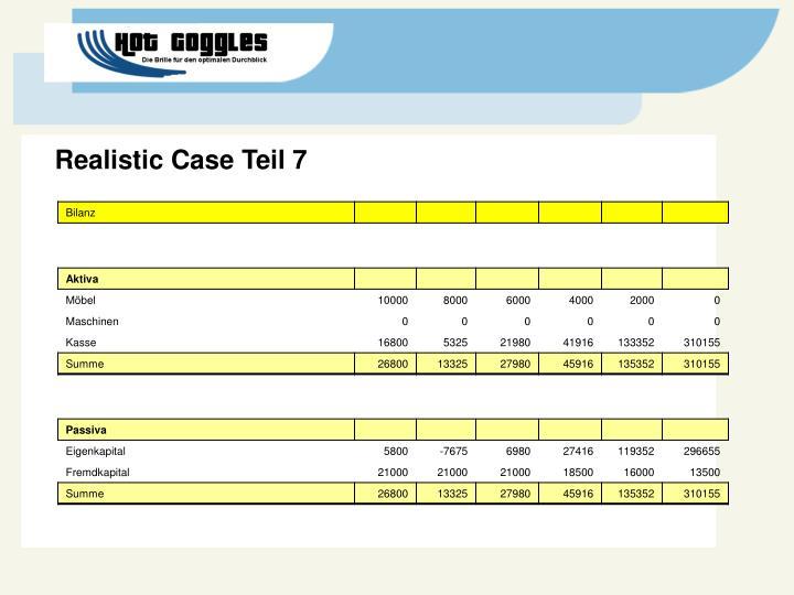 Realistic Case Teil 7