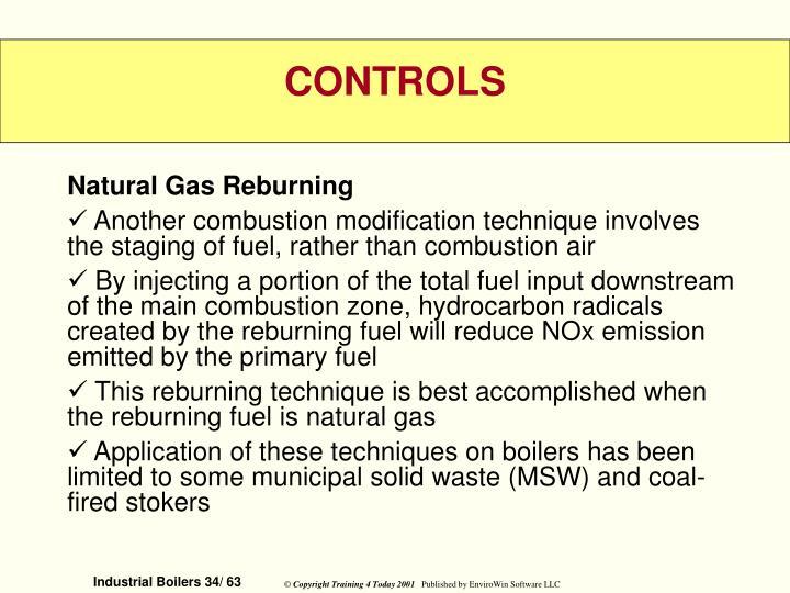 Natural Gas Reburning