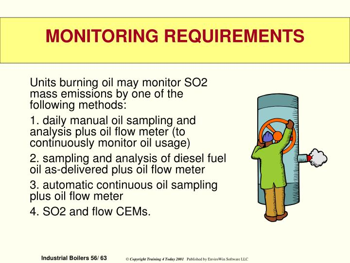 Units burning oil may monitor SO2 mass emissions by one of the following methods: