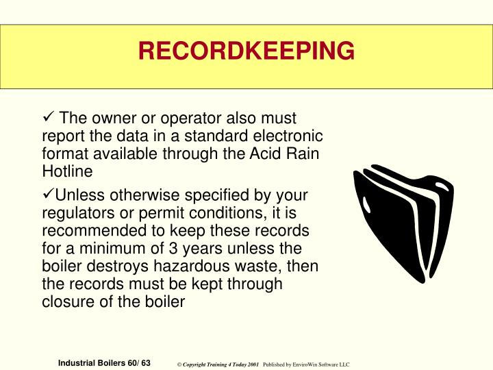 The owner or operator also must report the data in a standard electronic format available through the Acid Rain Hotline