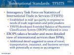 international standards tfsits