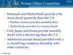 u s versus other countries1