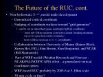 the future of the ruc cont1