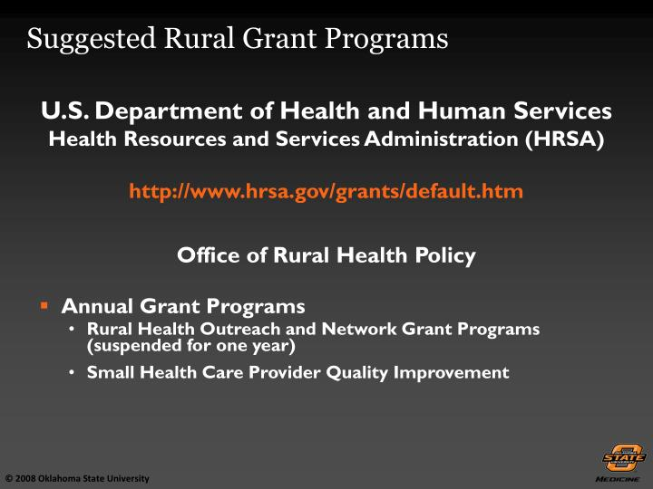 Office of Rural Health Policy