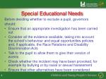 special educational needs1