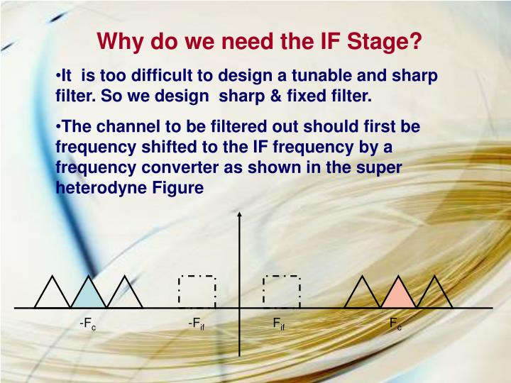 Why do we need the IF Stage?