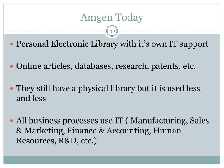Amgen Today