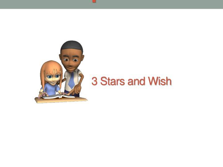 3 Stars and Wish