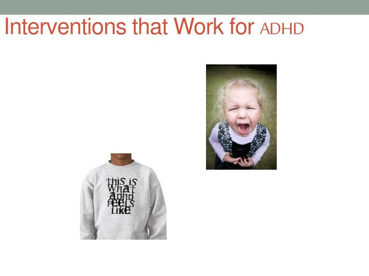 Interventions that Work for