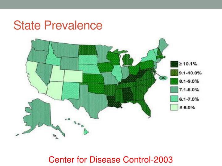 State Prevalence