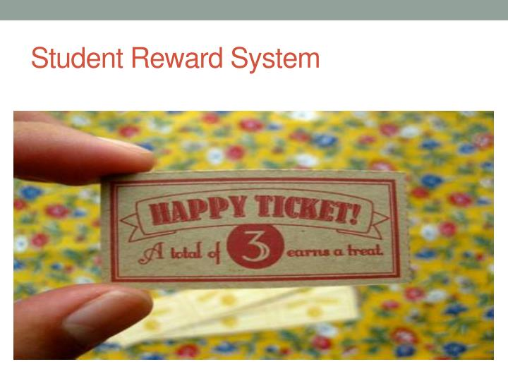 Student Reward System