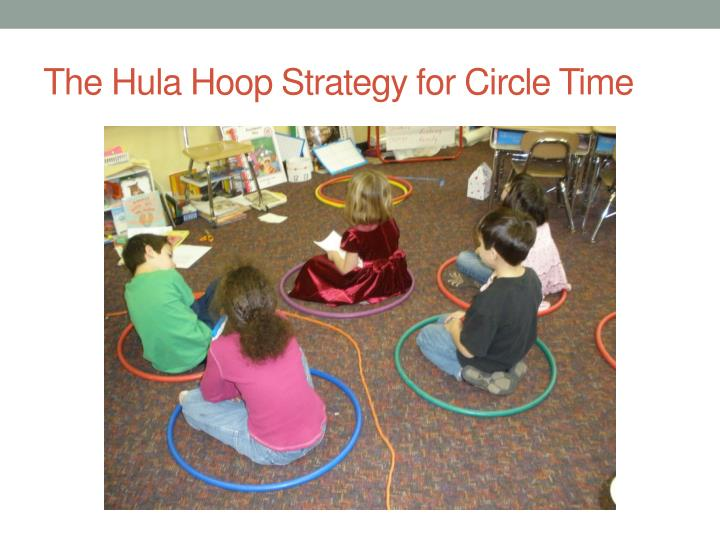 The Hula Hoop Strategy for Circle Time