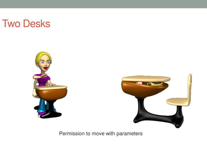 Two Desks