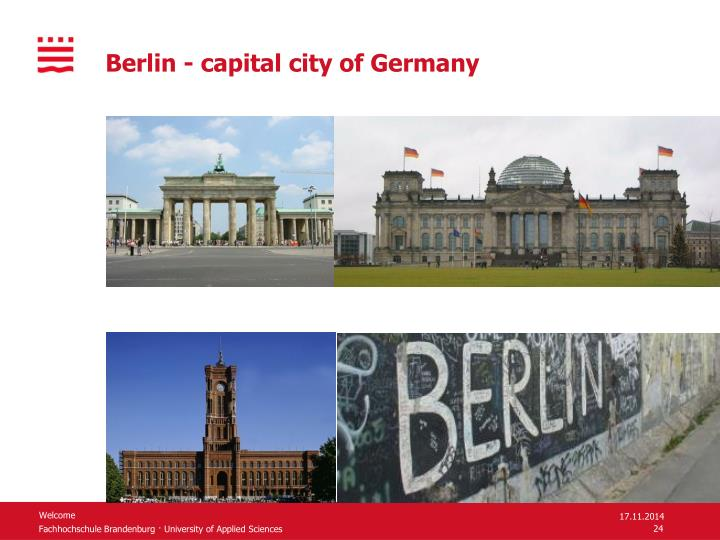 Berlin - capital city of Germany