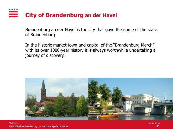 City of Brandenburg