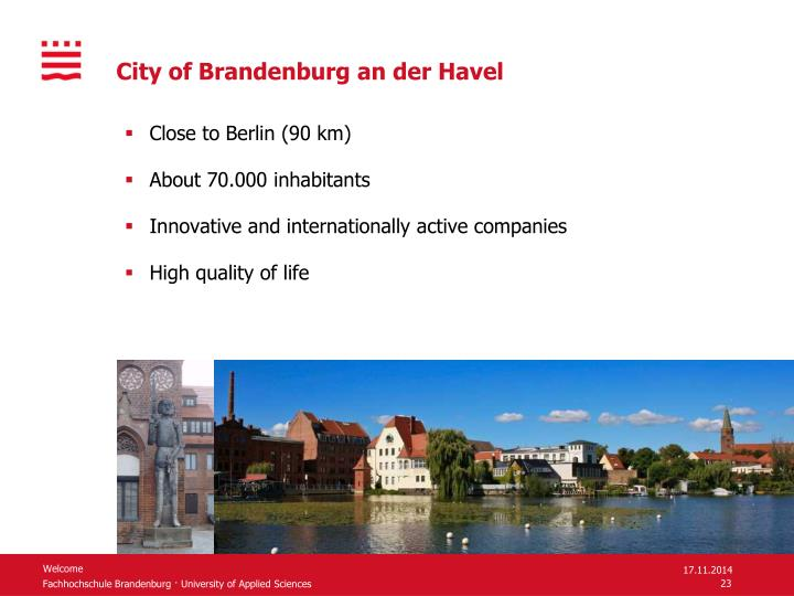 City of Brandenburg an der Havel