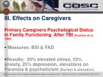iii effects on caregivers2